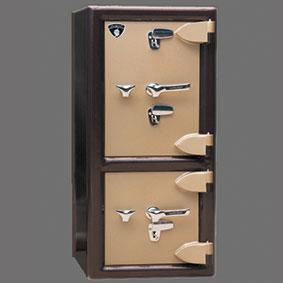گاو صندوق دوطبقه دو قفل۳۵۰ DKK