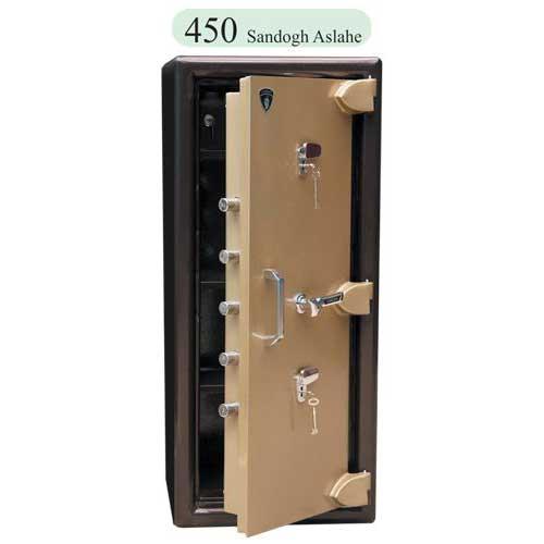 صندوق تک درب دوقفل ۴۵۰KK
